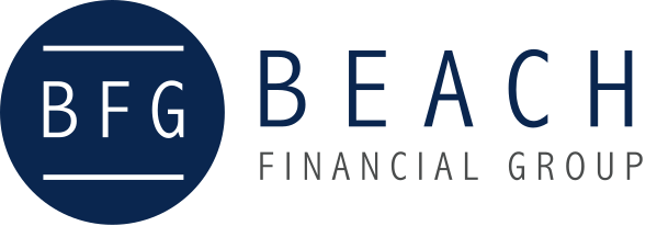 BFG logo with the text Beach Financial Group